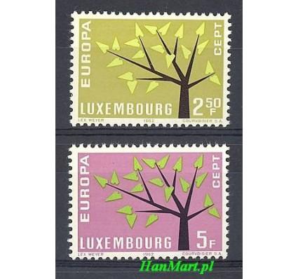Znaczek Luksemburg 1962 Mi 657-658 Czyste **