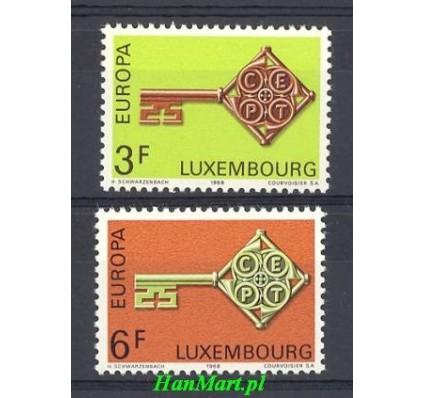Znaczek Luksemburg 1968 Mi 771-772 Czyste **