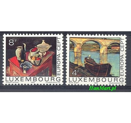 Znaczek Luksemburg 1975 Mi 904-905 Czyste **
