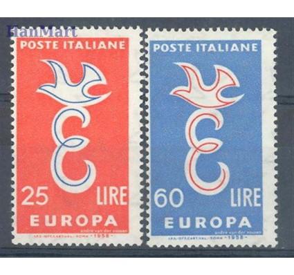 Znaczek Włochy 1958 Mi 1016-1017 Czyste **