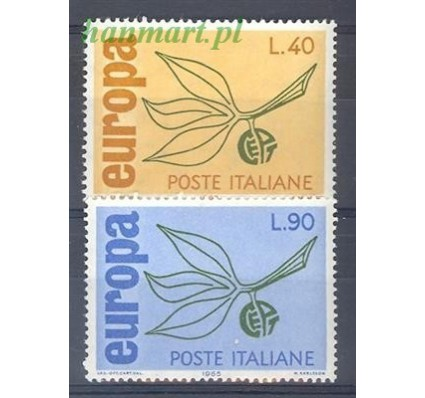 Znaczek Włochy 1965 Mi 1186-1187 Czyste **