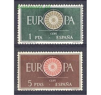 Znaczek Hiszpania 1960 Mi 1189-1190 Czyste **
