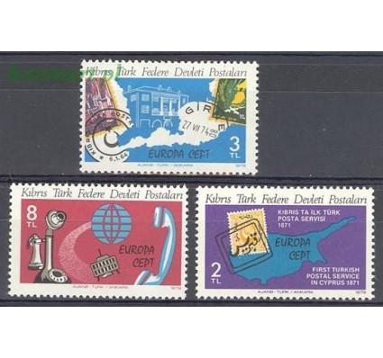 Znaczek Cypr Północny 1979 Mi 71-73 Czyste **