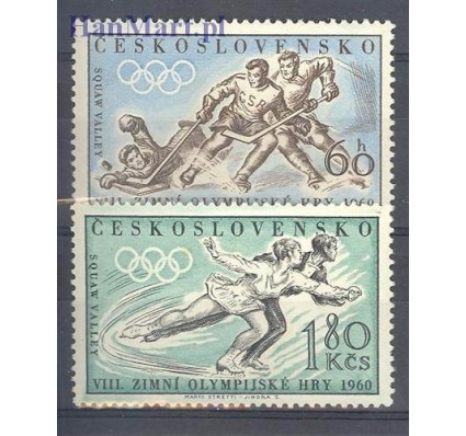 Znaczek Czechosłowacja 1960 Mi 1183-1184 Czyste **