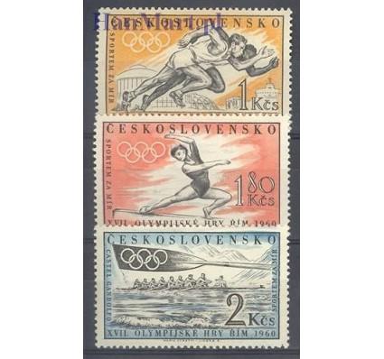 Znaczek Czechosłowacja 1960 Mi 1206-1208 Czyste **