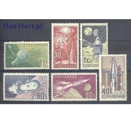 Znaczek Czechosłowacja 1962 Mi 1329-1334 Czyste **