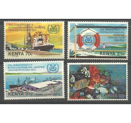 Kenia 1983 Mi 267-270 Czyste **