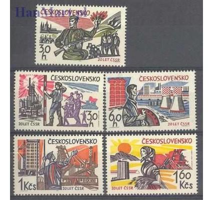 Znaczek Czechosłowacja 1965 Mi 1533-1537 Czyste **