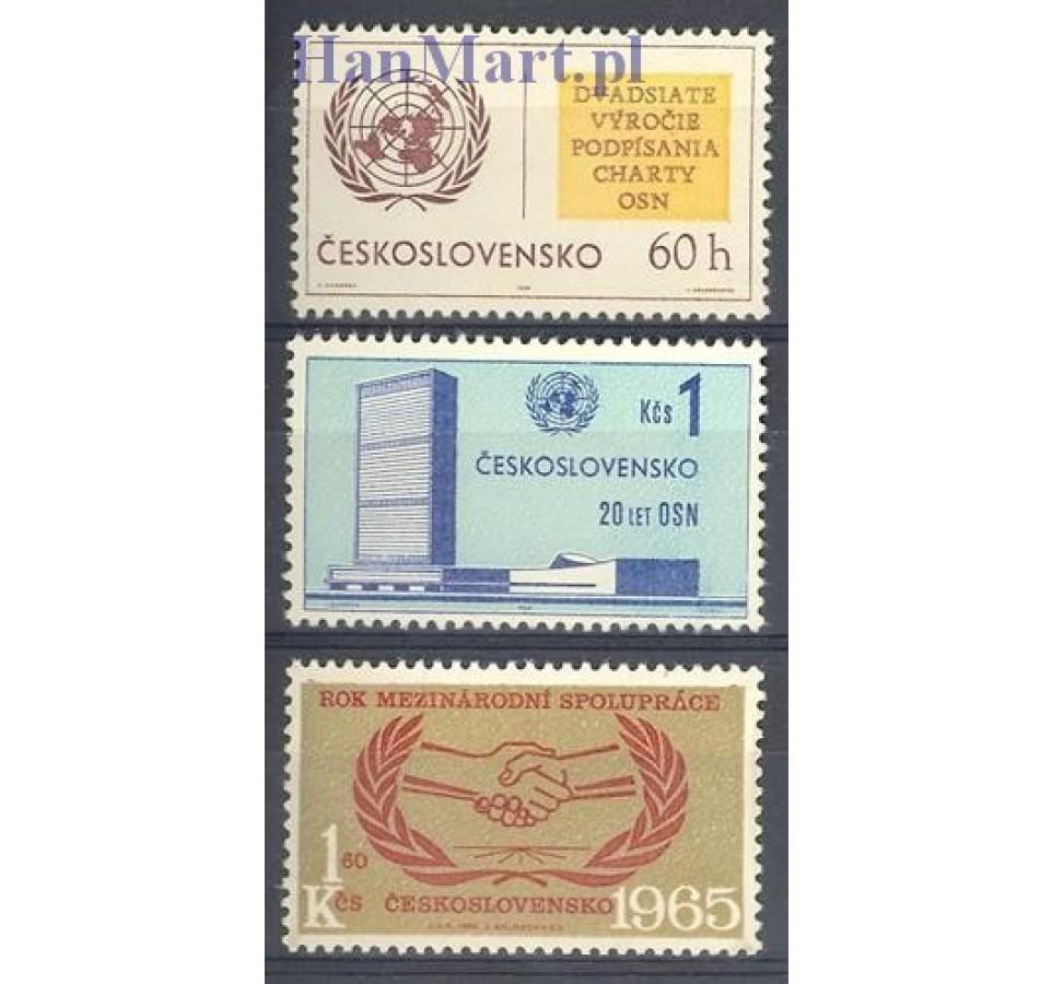 Czechosłowacja 1965 Mi 1548-1550 Czyste **