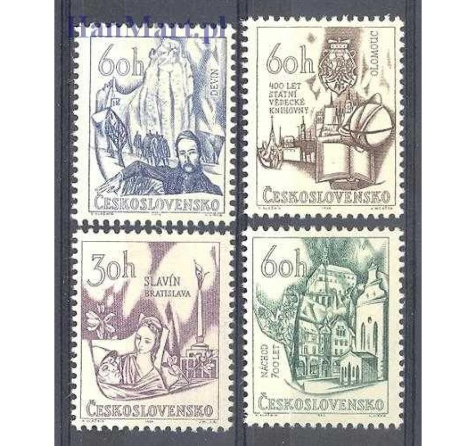 Czechosłowacja 1966 Mi 1638-1641 Czyste **