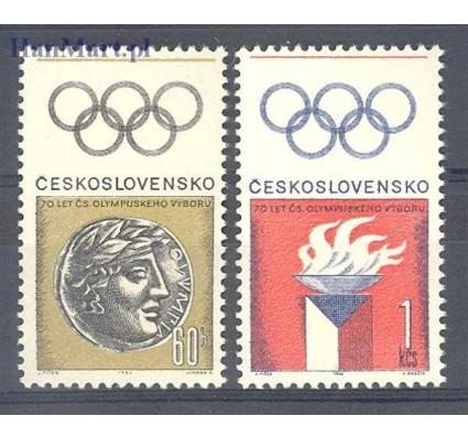 Znaczek Czechosłowacja 1966 Mi 1642-1643 Czyste **