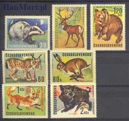 Znaczek Czechosłowacja 1966 Mi 1661-1667 Czyste **