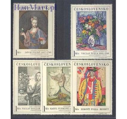 Znaczek Czechosłowacja 1966 Mi 1668-1672 Czyste **