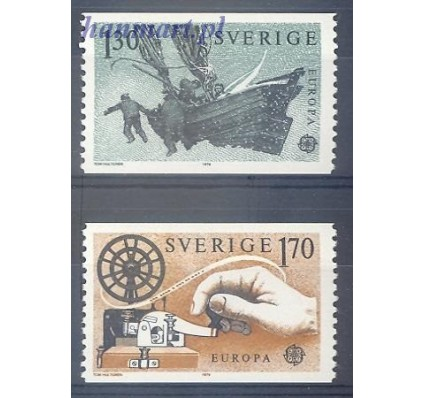 Znaczek Szwecja 1979 Mi 1058-1059 Czyste **