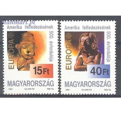 Znaczek Węgry 1992 Mi 4195-4196 Czyste **