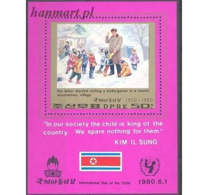Znaczek Korea Północna 1980 Mi bl 69 Czyste **