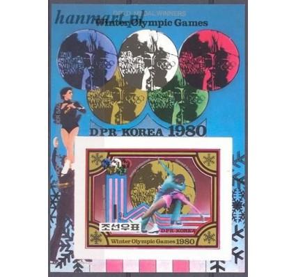 Znaczek Korea Północna 1980 Mi bl 80B Czyste **
