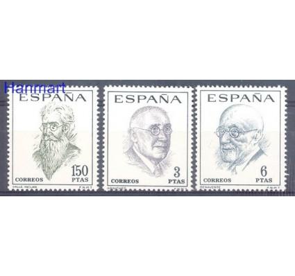 Znaczek Hiszpania 1966 Mi 1653-1655 Czyste **