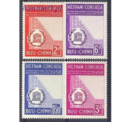 Wietnam Południowy 1958 Mi 164-167 Czyste **
