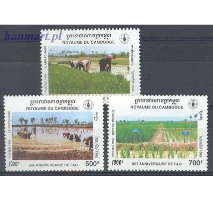 Znaczek Kambodża 1995 Mi 1535-1537 Czyste **