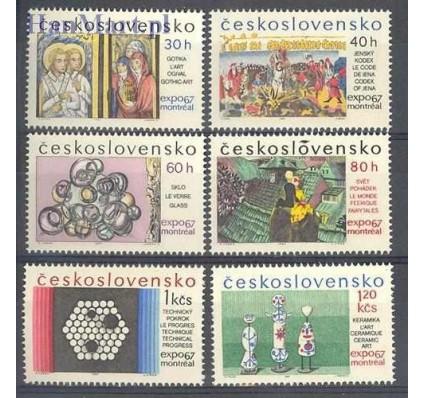 Znaczek Czechosłowacja 1967 Mi 1694-1699 Czyste **