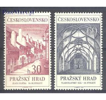 Znaczek Czechosłowacja 1967 Mi 1705-1706 Czyste **