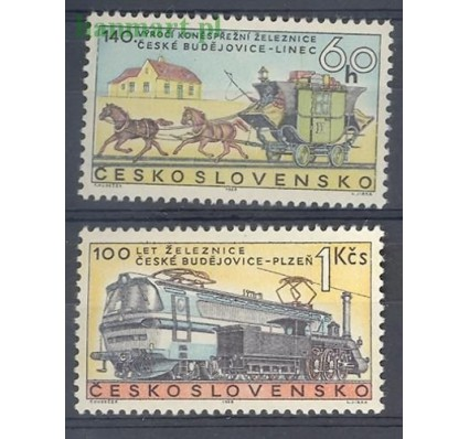 Znaczek Czechosłowacja 1968 Mi 1806-1807 Czyste **