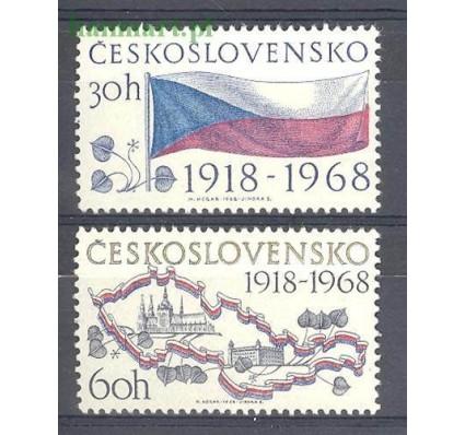 Znaczek Czechosłowacja 1968 Mi 1829-1830 Czyste **