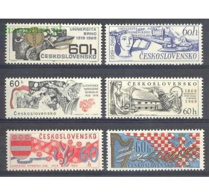 Znaczek Czechosłowacja 1969 Mi 1860-1865 Czyste **