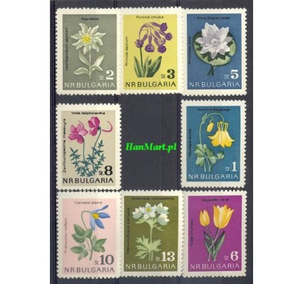 Bułgaria 1963 Mi 1407-1414 Czyste **