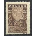 Polska 1946 Mi 437 Fi 404 Czyste **