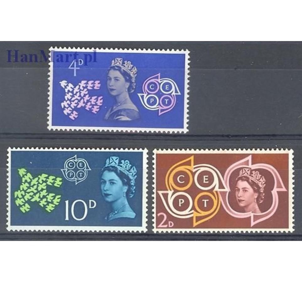 Wielka Brytania 1961 Mi 346-348 Czyste **