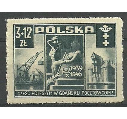 Znaczek Polska 1946 Mi 444 Fi 411 Czyste **