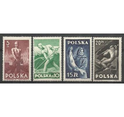 Znaczek Polska 1947 Mi 472-475 Fi 437-440 Czyste **