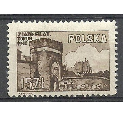 Znaczek Polska 1948 Mi 503 Fi 468 Czyste **