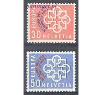 Znaczek Szwajcaria 1959 Mi 681-682 Czyste **
