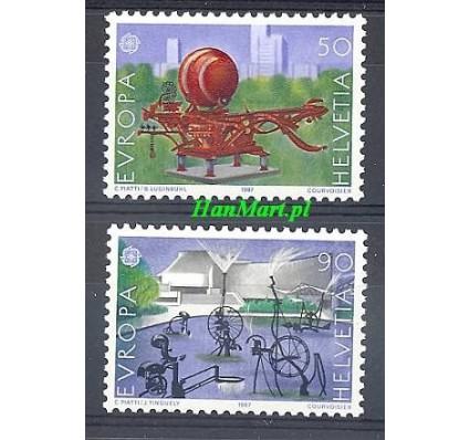 Znaczek Szwajcaria 1987 Mi 1349-1350 Czyste **