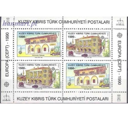 Znaczek Cypr Północny 1990 Mi bl 8 Czyste **