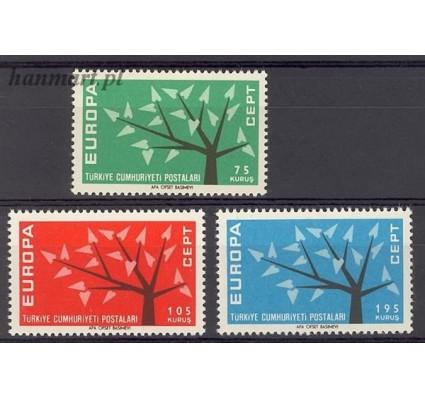 Znaczek Turcja 1962 Mi 1843-1845 Czyste **