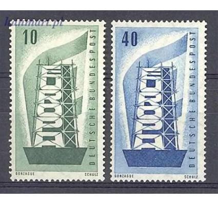 Znaczek Niemcy 1956 Mi 241-242 Czyste **