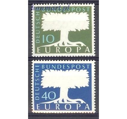 Znaczek Niemcy 1957 Mi 268-269 Czyste **