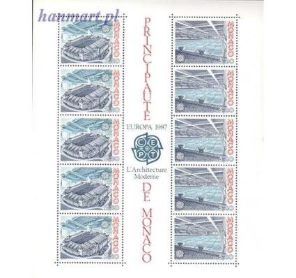 Znaczek Monako 1987 Mi bl 35 Czyste **
