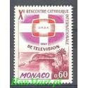 Monako 1966 Mi 841 Czyste **