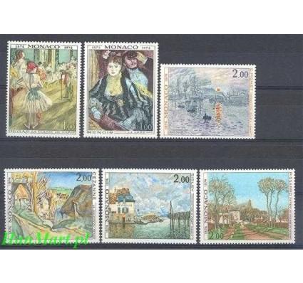 Znaczek Monako 1974 Mi 1124-1129 Czyste **