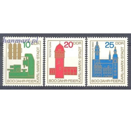 Znaczek NRD / DDR 1965 Mi 1117-1118 Czyste **