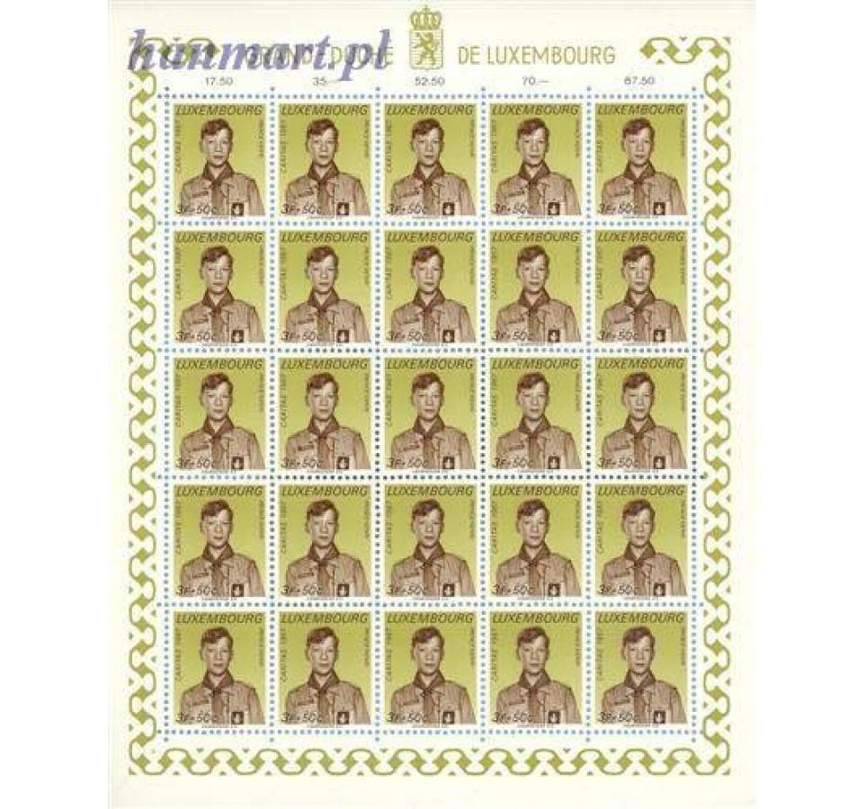 Luksemburg 1967 Mi ark 759-764 Czyste **