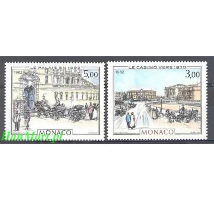 Znaczek Monako 1982 Mi 1549-1550 Czyste **