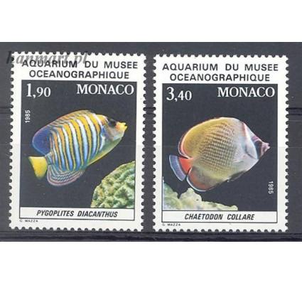 Znaczek Monako 1986 Mi 1766-1767 Czyste **