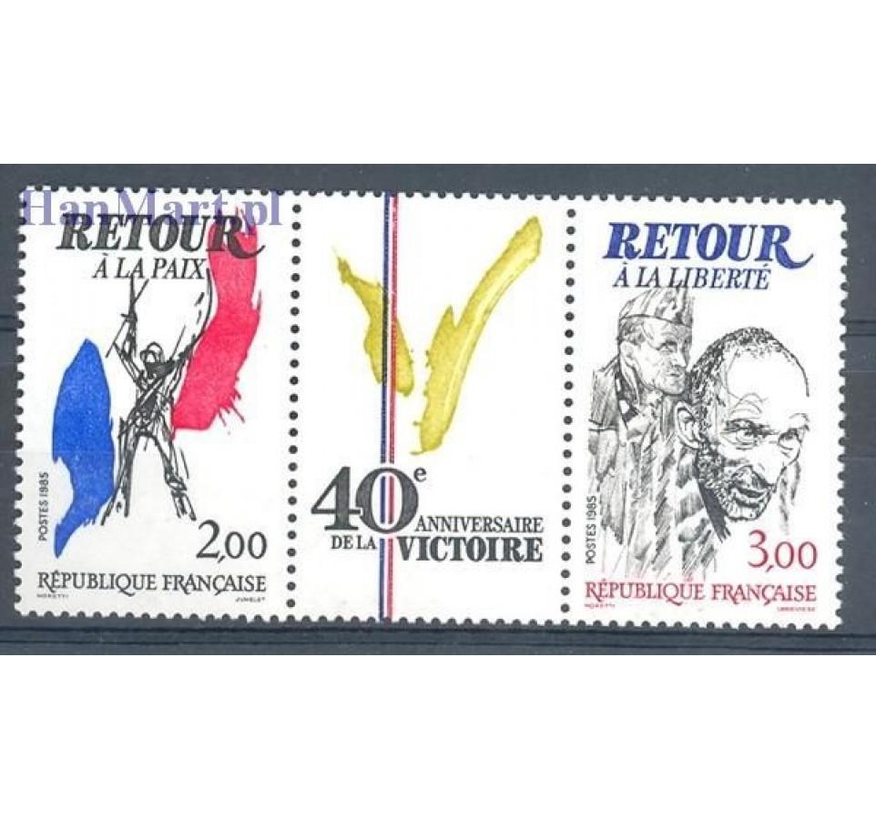 Francja 1985 Mi 2499-2500 Czyste **