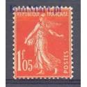 Francja 1925 Mi 190 Z podlepką *